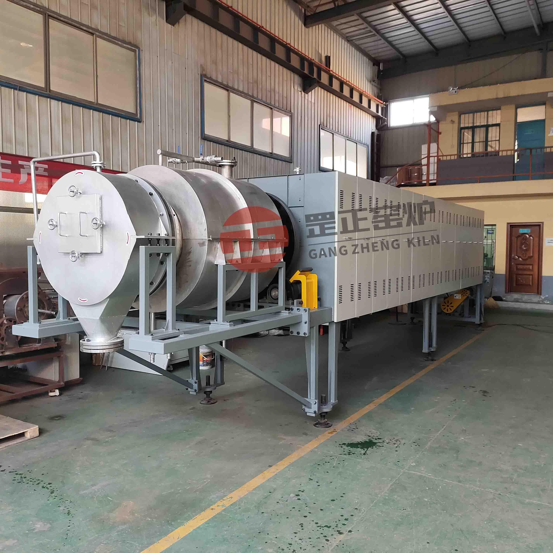 GZ-LX160 1800连续式气氛回转炉(活性炭专用)